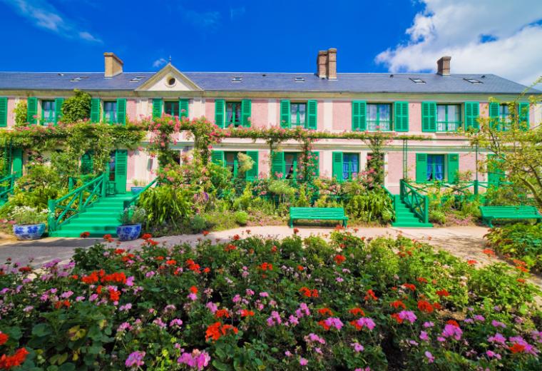 法国皇宫花园一日游(凡尔赛宫+吉维尼+莫奈花园+奥维尔小镇)